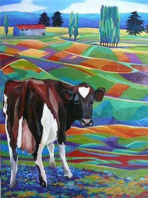 Helena Blair. I Love the colours of the landscape.