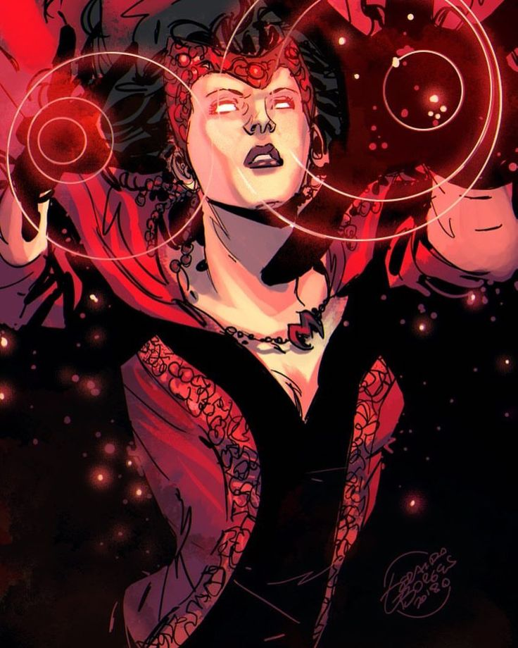 Scarlet Witch by Geraldo Borges Colors by Vinny Townsend
