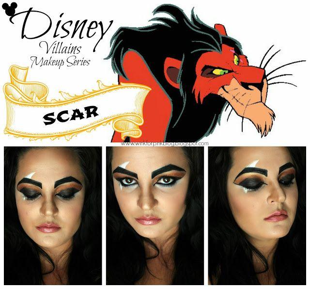 Disney Villains Makeup Series *SCAR*-- way too cool not to pin.  sc 1 st  Pinterest & Best 247 Villains °_° ideas on Pinterest | Costume ideas Artistic ...