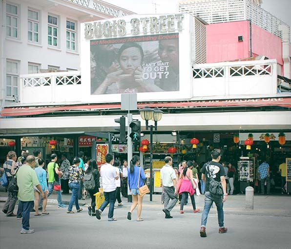 Bugis Street is one of the best shopping places in Singapore attracting shopping lovers by offering latest and trendiest fashions at affordable prices.
