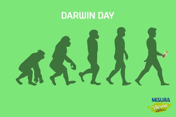 Oggi è il Darwin day: ricordiamoci che Misura Stevia è pensato proprio per le persone più evolute :-)  #DarwinDay #stevia