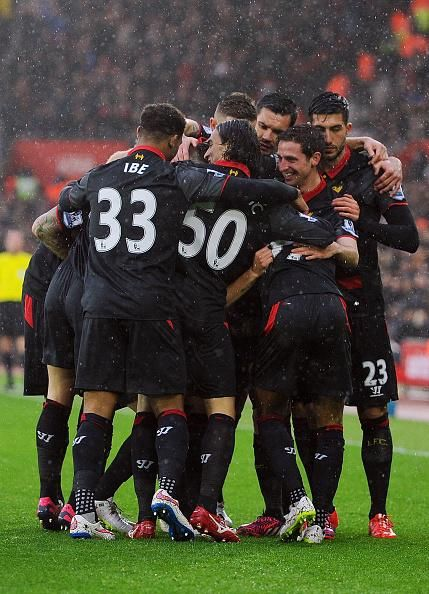 Great #LFC team performance at Southampton.