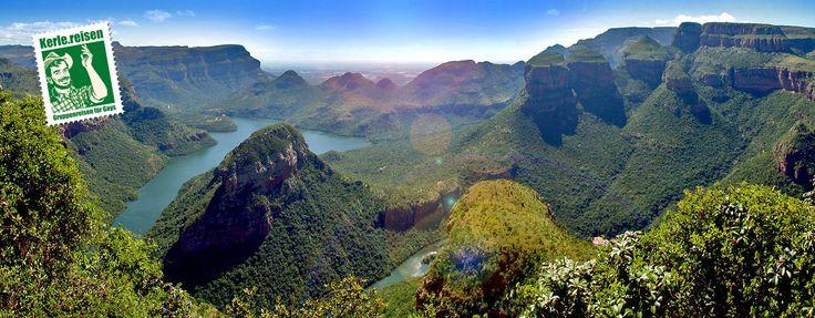 Blyde River Canyon in Südafrika auf der Panoramaroute