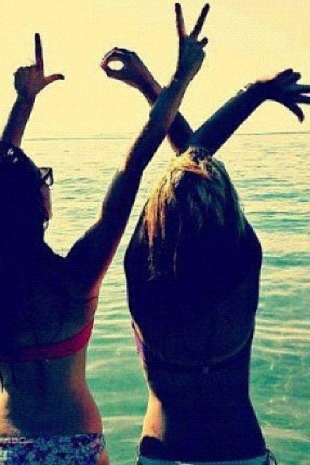 Love...Best friend summer picture!