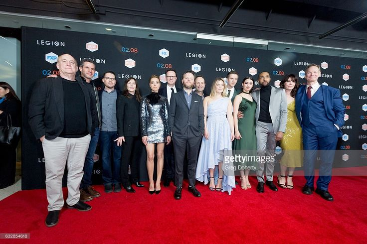 The Legion cast and team arrive for the Premiere Of FX's 'Legion' at Pacific Design Center on January 26, 2017 in West Hollywood, California.