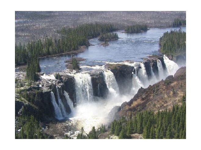 Crystall Falls Labrador Newfoundland Labrador My