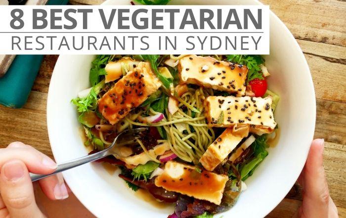 8 Best vegetarian restaurants in sydney