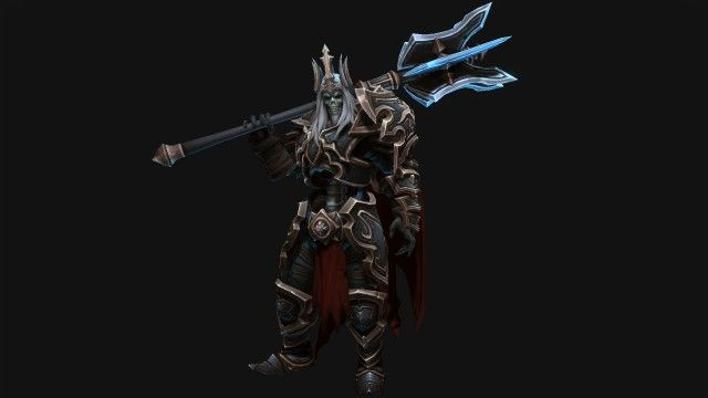 Blizzard is preparing to add Leoric to the Heroes of the Storm roster