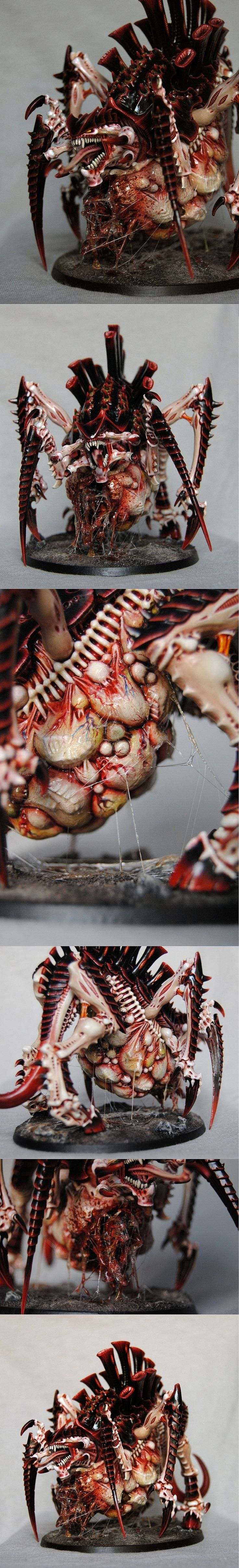 Tyranid Tervigon - Wonderful attention to detail, and disgusting to boot!