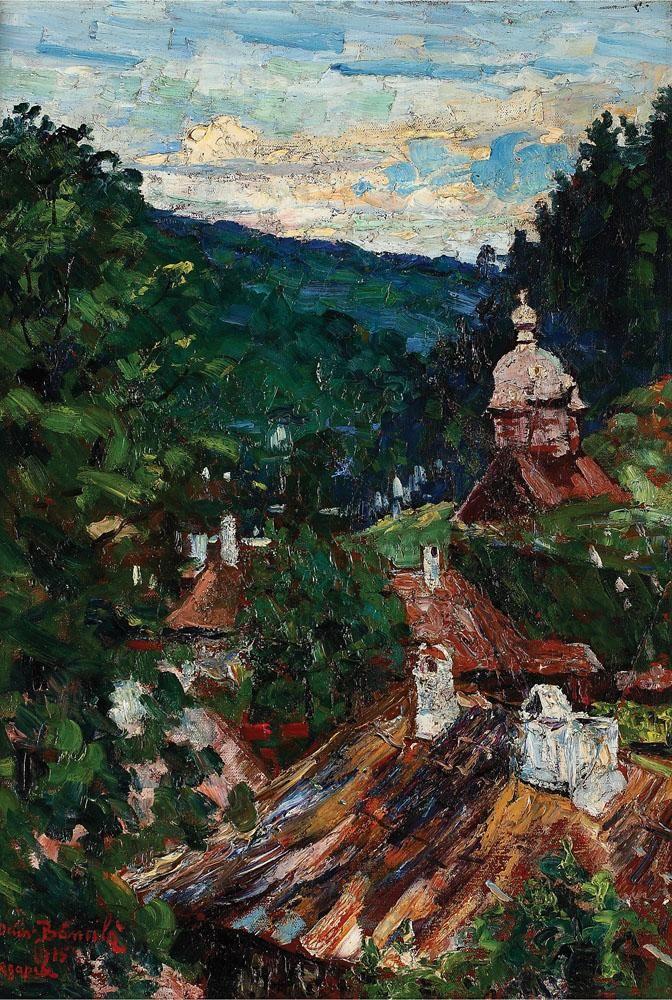 Octav Bancila - Agapia Valley, 1915