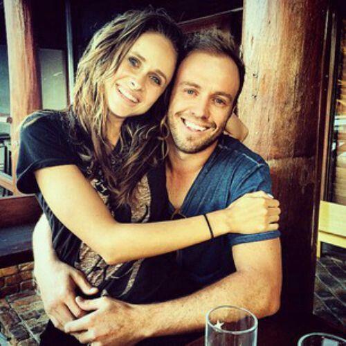 Ab de villiers & his wife