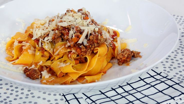 Get schooled by Christine Cushing's master class in bolognese