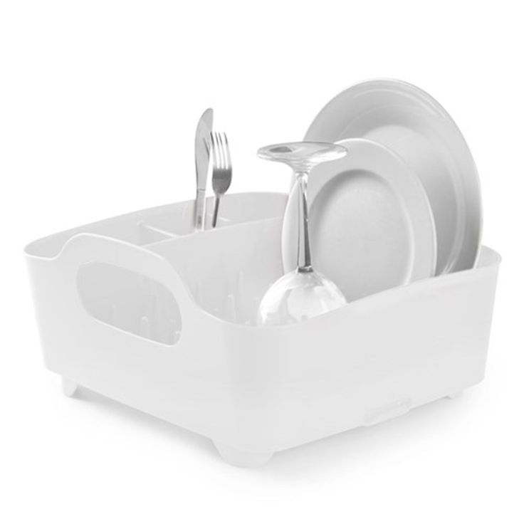 Umbra Tub Dish Rack White | Accessories - House