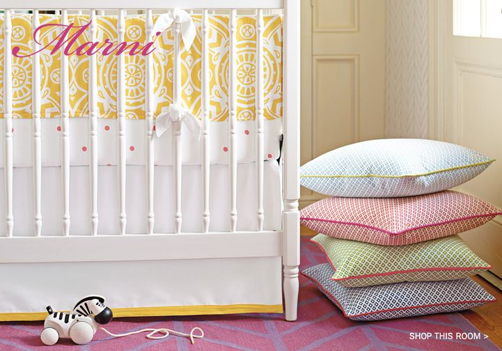 142 best crib bedding images on pinterest baby cribs for Serena and lily baby girl bedding