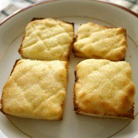 サクサク~! メロンパン風トースト♪