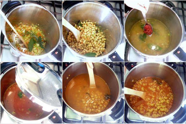 Pasta E Ceci Soup Recipes — Dishmaps