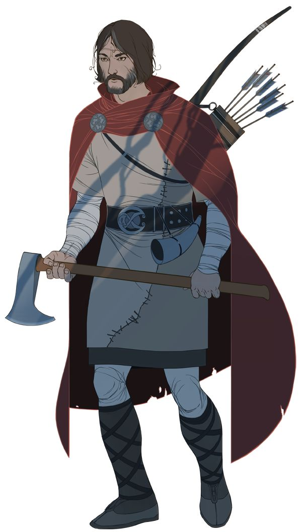 Another bit of art from Stoic Studios' first game, the Banner Saga.