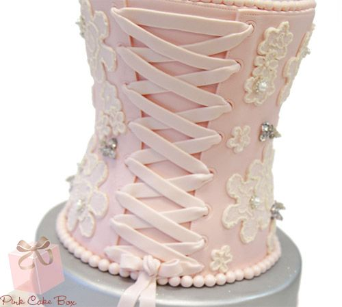 How To Make A D Corset Cake Step By Step