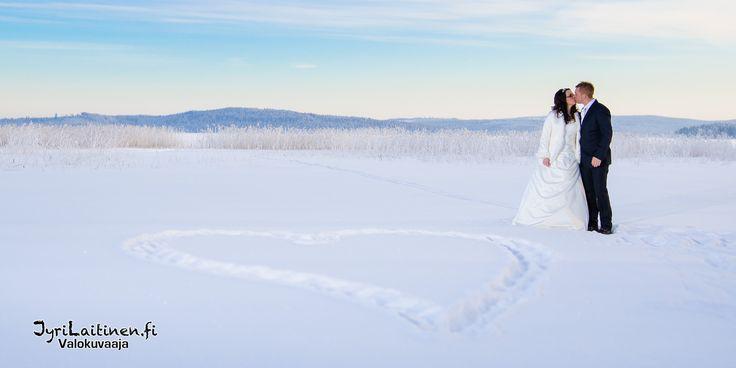 Juurikkasaari, Talvihäät, hääkuva, pakkanen, auringonlasku, kaunis hääkuva