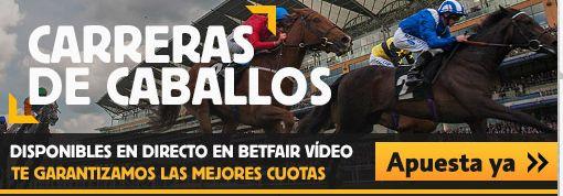 Carreras caballos ya disponibles en betfair españa en vivo y directo