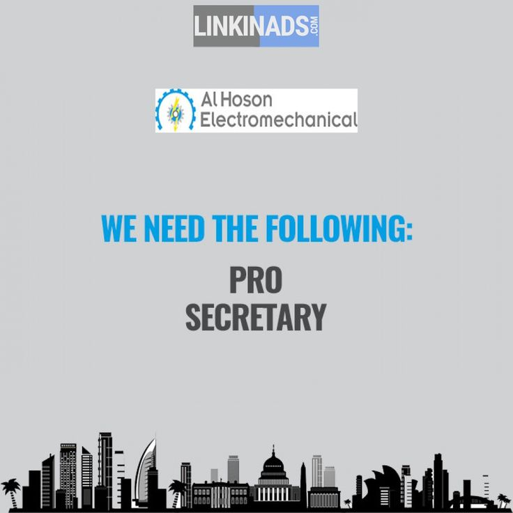 CONTRACTING COMPANY need PRO & SECRETARY