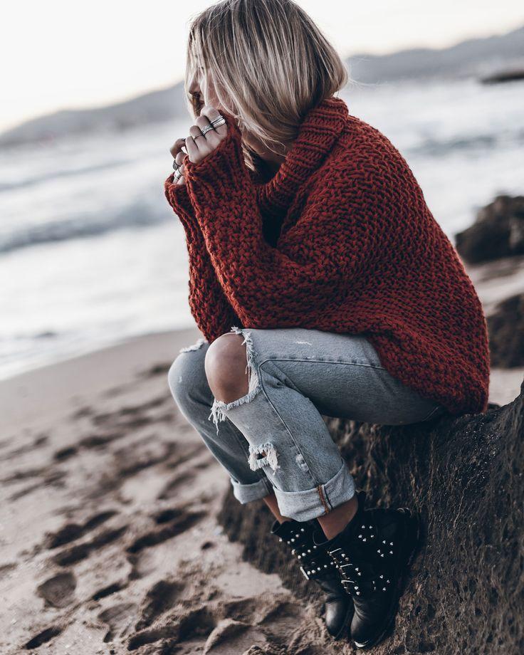 Chunky cozy knit