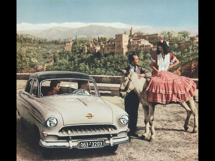 Opel Period Photos of Summer - 1953 1955 Opel Kapitan 4 - 1600x1200 - Wallpaper