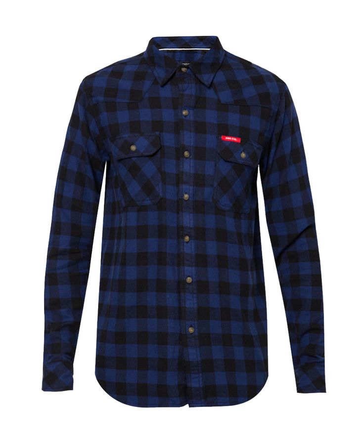 Bring up your style with Flanel Shirt by Dnd Execution. Made from cotton,  http://www.zocko.com/z/JHPxf