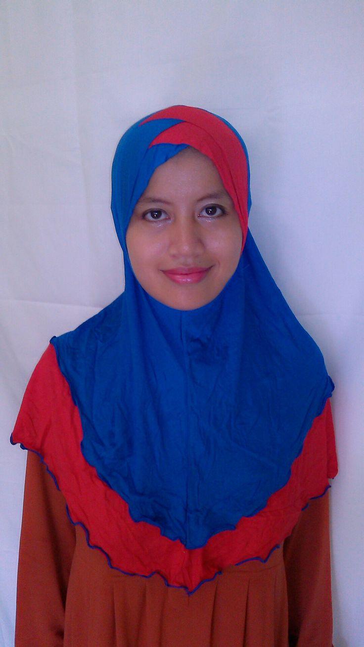 Saidah Blue Red  Rp 30.000 Order by  BBM : 751A4E8C  WA/ SMS : 085642070631
