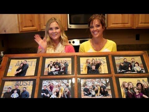 ▶ Window Pane Picture Frame!! - YouTube