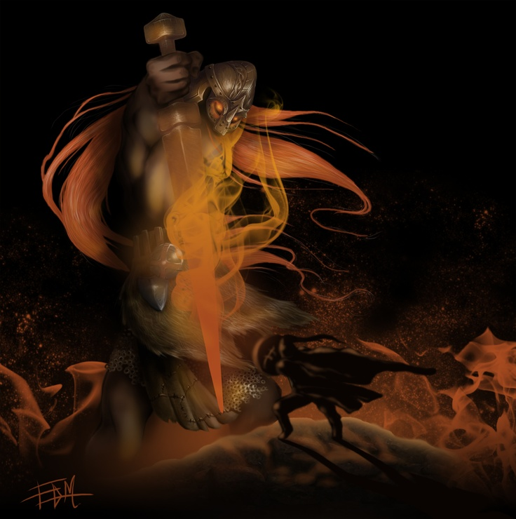 #ROL #CARTAS #CARDS #JUEGOS #GAME #CROWDFUNDING #VERKAMI - SUTUR Gigante de fuego ilustrado por Esther Díaz para GUERRA DE MITOS by PAK es un juego de cartas rol de 2 a 5 jugadores, que está ambientado en un mundo fantástico inspirado en diversas mitologias. Usa un sistema sencillo y divertido. 2 Panteones de mitología nórdica y japonesa.  Fire magic monster viking rol guerrero vikingo  +INFO: http://guerrademitos.com  CAMPAÑA crowdfunding verkami www.verkami.com/projects/4226
