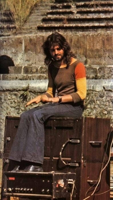 Richard Rick Wright | Pink Floyd Pompeii 1971