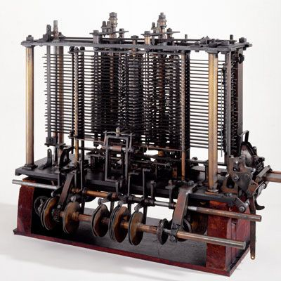 Experimental portion of Analytical Engine, 1871