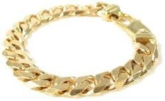 Image result for mens gold bracelets with diamonds