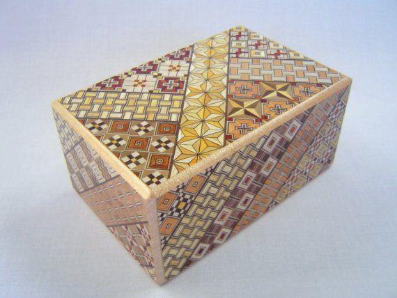 Japanese Puzzle box Himitsu bako