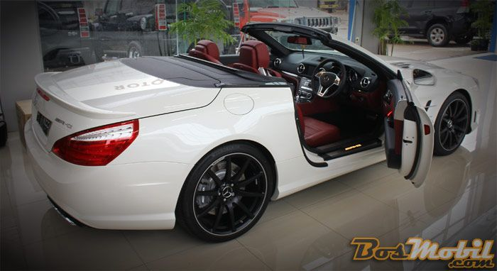 Mercedes-Benz SL63 AMG : Kemewahan Yang Sangar Tiada Tara #info #BosMobil