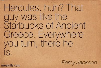 Percy Jackson quote and neither met their expectations