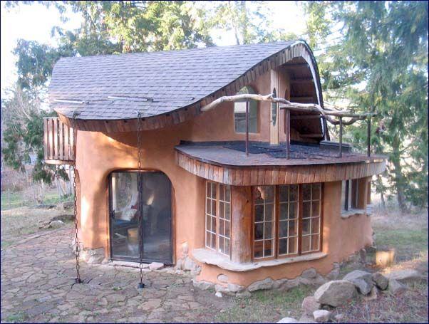 Home by CobWorks Mayne Island, British Columbia <3