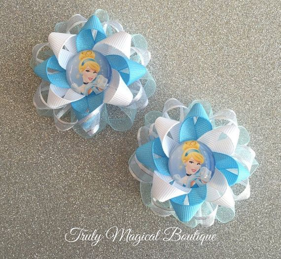 Cinderella Hair Bows  Cinderella Hair by TrulyMagicalBoutique