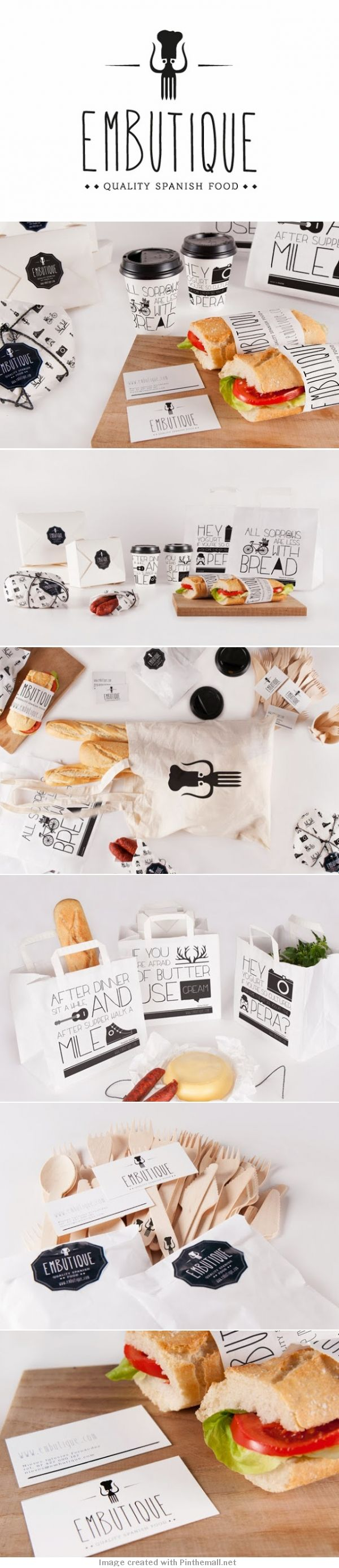 Unique Branding Design, Embutique #Branding #Design (http://www.pinterest.com/aldenchong/)