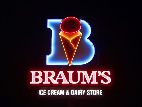 Braum's Ice Cream  Dairy Store..YAAASSSS! Best Ice Cream in Texas!