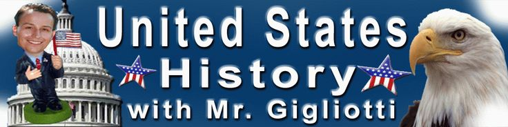 Mr. Gigliotti's United States History | Social Studies | Shiloh Middle Schoo…