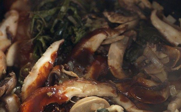 Bela Cozinha - Ragu de cogumelo (Foto: Reproduo / GNT)