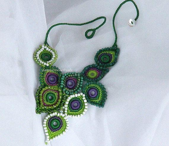 Bijoutery étnica en verde