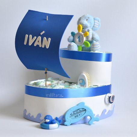 tarta de pañales online barco