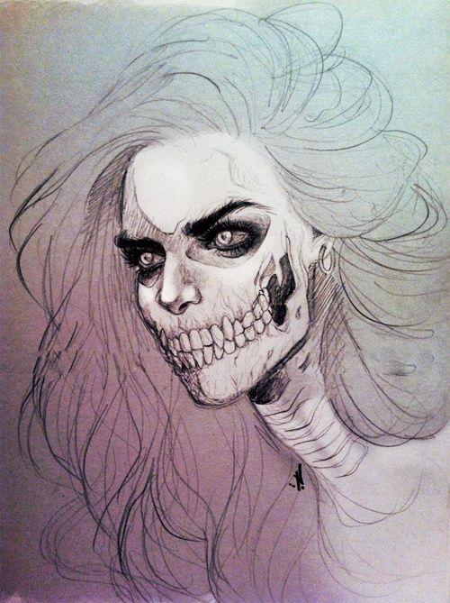 Sara Al-hazmi - Real half face