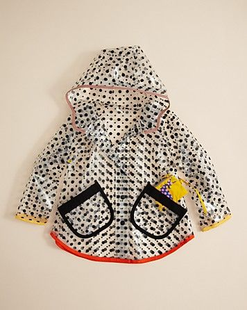Stella McCartney Kids Girls' Dottie Raincoat - Sizes 2-6 | Bloomingdale's