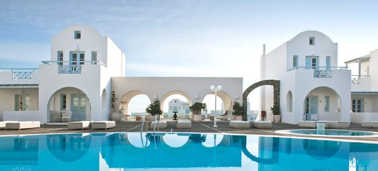 Favourite Places to Stay: (2) El Greco, Santorini.