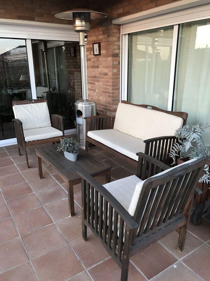 60 00 6 cojines para muebles de jard n conjunto de 6 for Cojin para muebles de jardin en palet