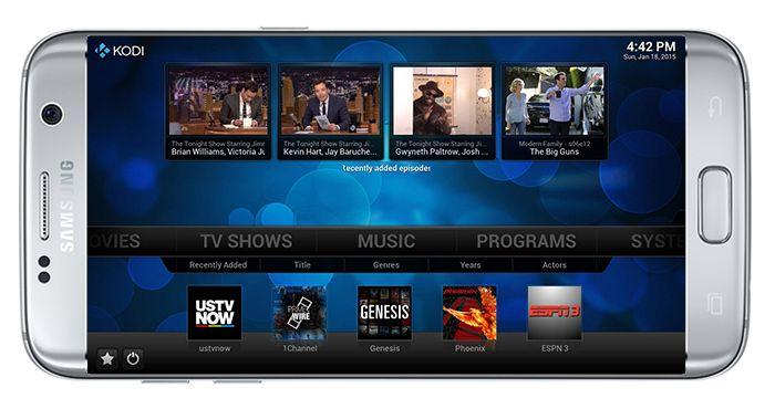 Kodi for Samsung - http://www.kodidownload.org/kodi-for-samsung